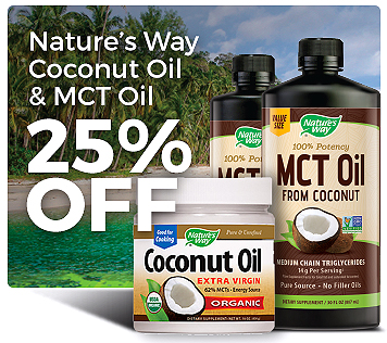 Nature's Way Coconut Oil & MCT Oil