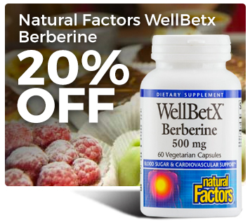 Natural Factors WellBetX Berberine Sale